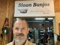 Philip at Sloan Banjos